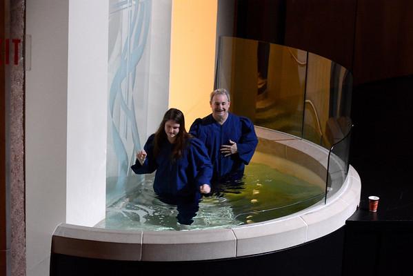March 2016 Baptisms