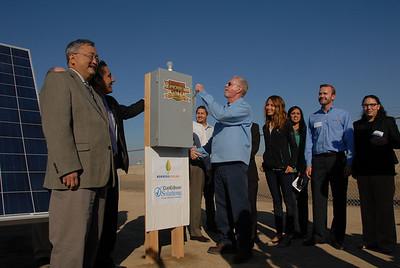 Kerman WWTP Solar Plant Opening Celebration