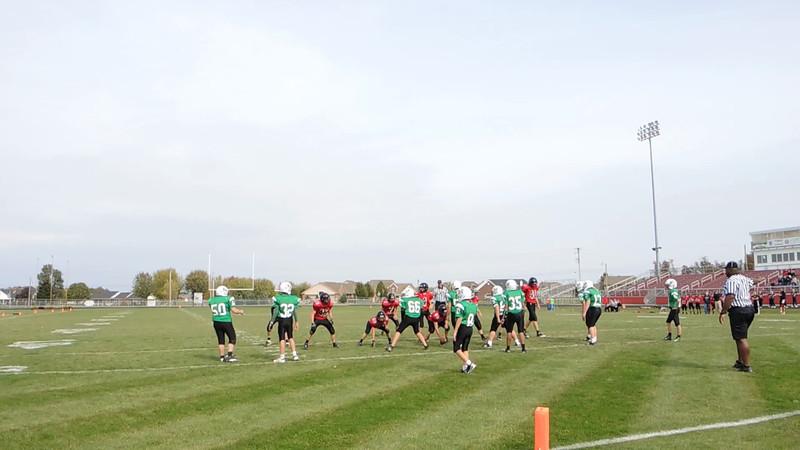 Fort Loramie 7th Grade Football 10-13-2012