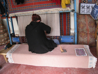Turkish Carpets - Ephesus Turkey (April 2010)