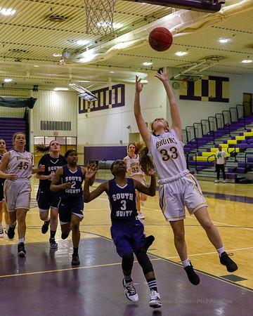 Girls Frosh Basketball v South County 2/11/20