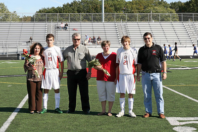 Boys Soccer v. Gilmour - 2008 Senior Recognition Day