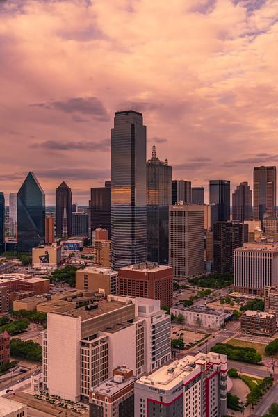 Dallas and Clouds