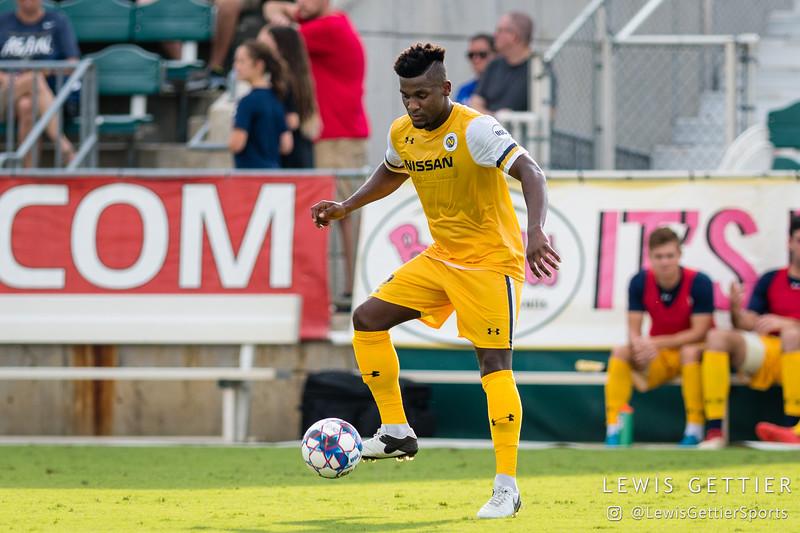 Nashville SC defender Bradley Bourgeois (22)