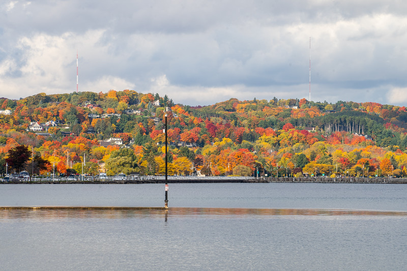 Fall colors in Traverse City, Michigan