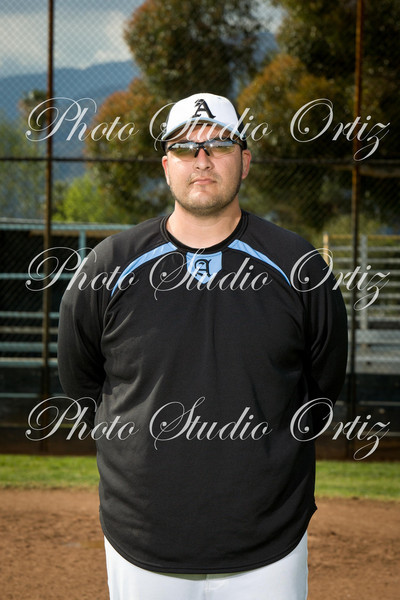 Baseball JV Team Photos