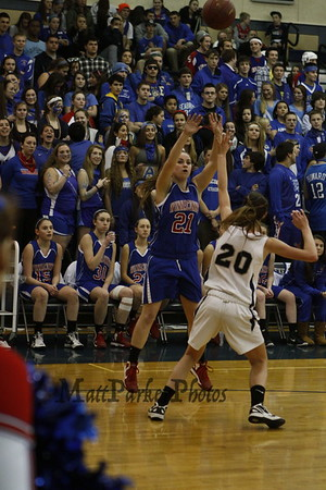 2013-2-1 WHS Girls Basketball vs Exeter