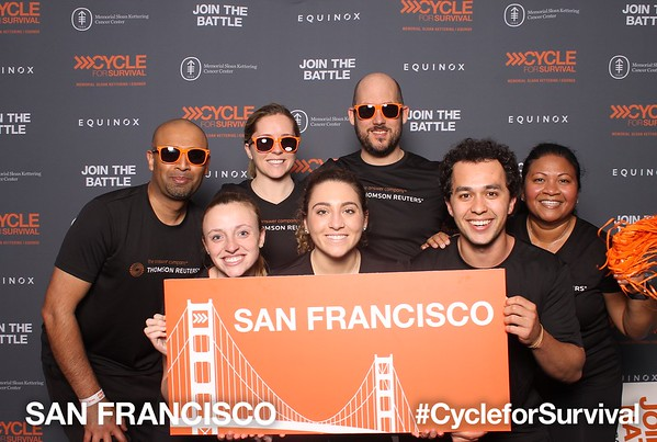 02-09-18 Cycle for Survival San Francisco