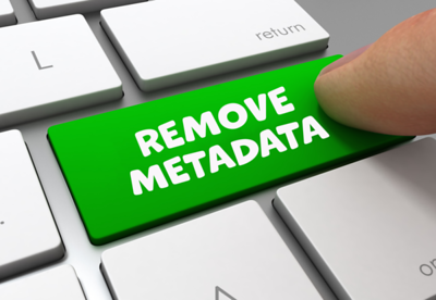 Lightroom - How To Remove Metadata