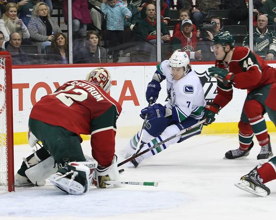 MN Wild vs Vancouver Canucks - 2/9/12