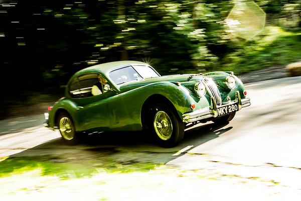 Jaguar XK140 fhc 1956
