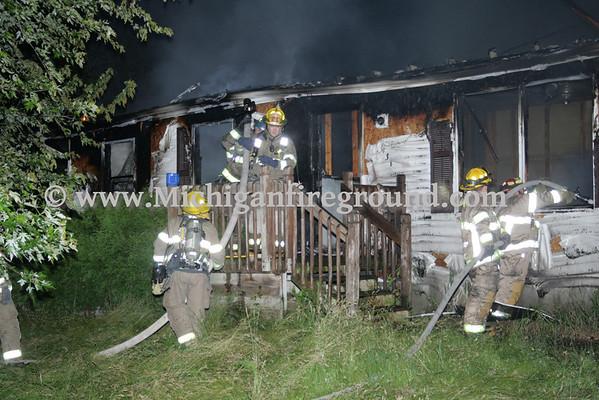 6/12/10 - Hamlin Twp house fire, 4230 Whittum