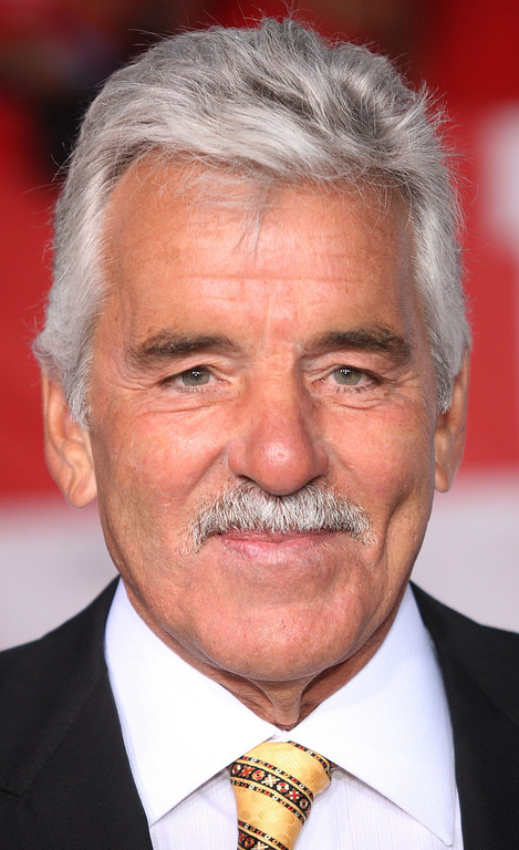 """. LOS ANGELES, CA - MAY 01: Actor Dennis Farina attends the \""""What Happens In Vegas\"""" film premiere at the Mann Village Theater on May 1, 2008 in Los Angeles, California.  (Photo by Frederick M. Brown/Getty Images)"""