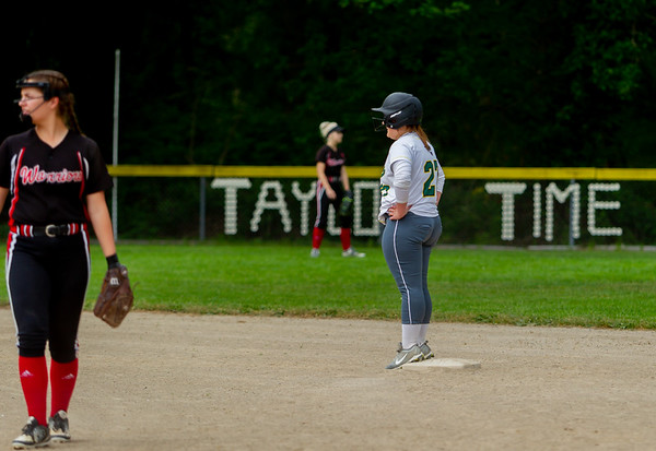 Set six the Seniors Night game: Vashon Island High School Fastpitch v Seattle Christian