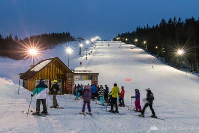 Skiing on Rogla - March 25-26, 2016