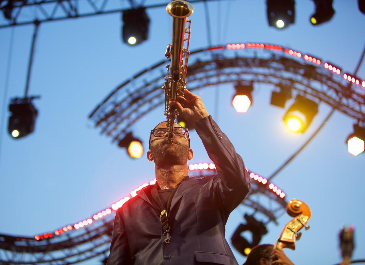 Kenny Garrett at Jazz à Juan on 2015 10