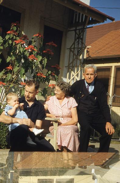 Anne, Herman, Grandparents 1953