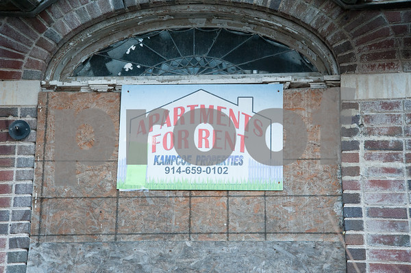 12/06/17 Wesley Bunnell   Staff A sign on the front of 24 Tremont St in the North Oak Section of New Britain. Residents of the neighborhood have recently been speaking up regarding blight and alleged neglect from the city regarding their concerns.