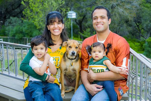Rahul and Nisha family