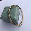 Vintage Onyx and Antique Diamond Bangle 15