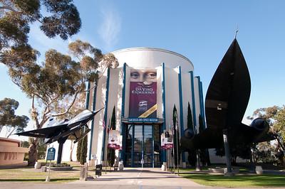 The Da Vinci Experience - San Diego Air & Space Museum & Balboa Park 2/28/2009