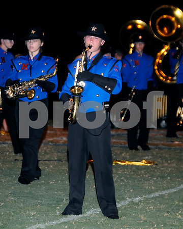 Marshall County Marching Marshals Performance At The Ballard County Game September 9, 2011.