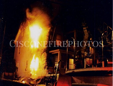 New Haven Fires 1998