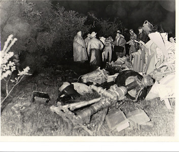 American Flyers Lockheed Electra Crash Pictures