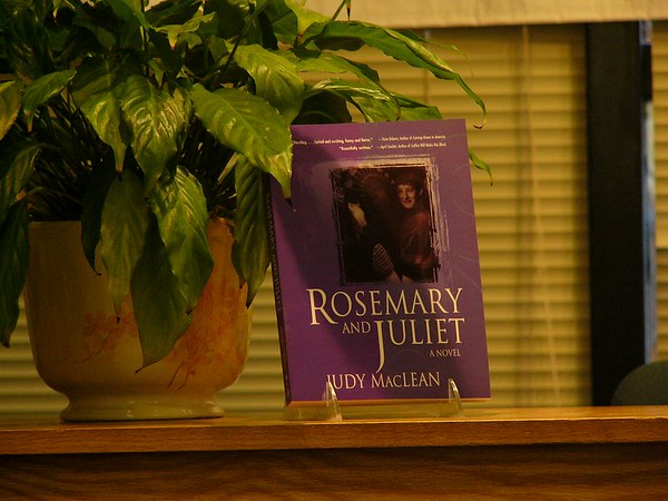 Judy Reading Rosemary and Juliet