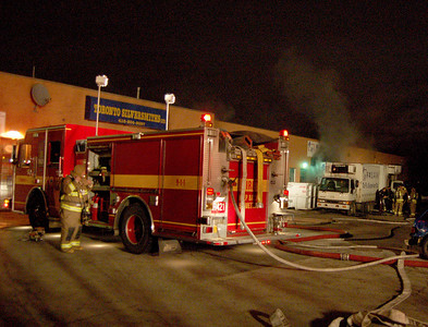 January 1, 2007 - 3rd Alarm - Old Weston Rd / Gunns Rd