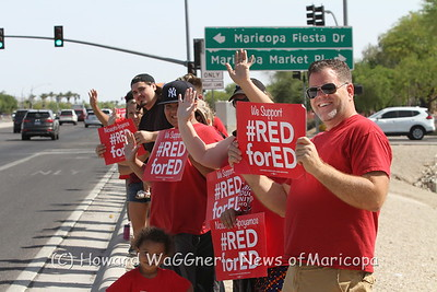 RedForEd Sunday 4/29/2018