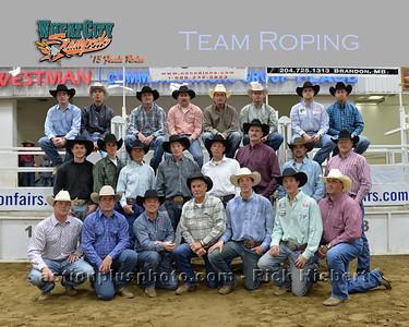 2013 MF Team Roping