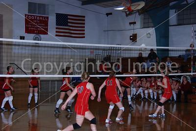 LaMoille Volleyball Senior Night, Amboy-LaMoille Senior Night