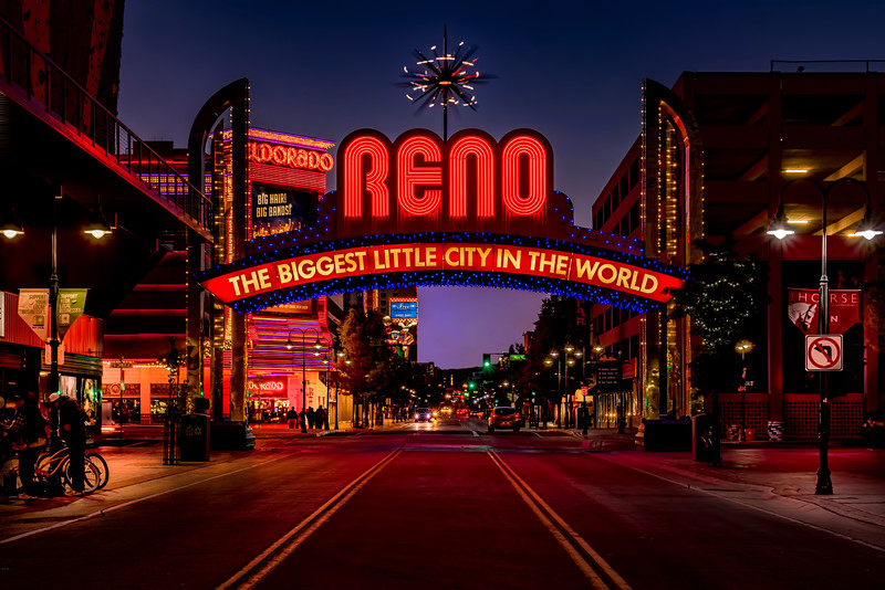 Reno Arch  VIirginia City and Roadside  Sights