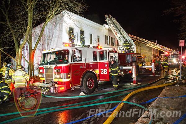 Schuylkill County - Ashland Borough - Dwelling Fire - 03/18/2020
