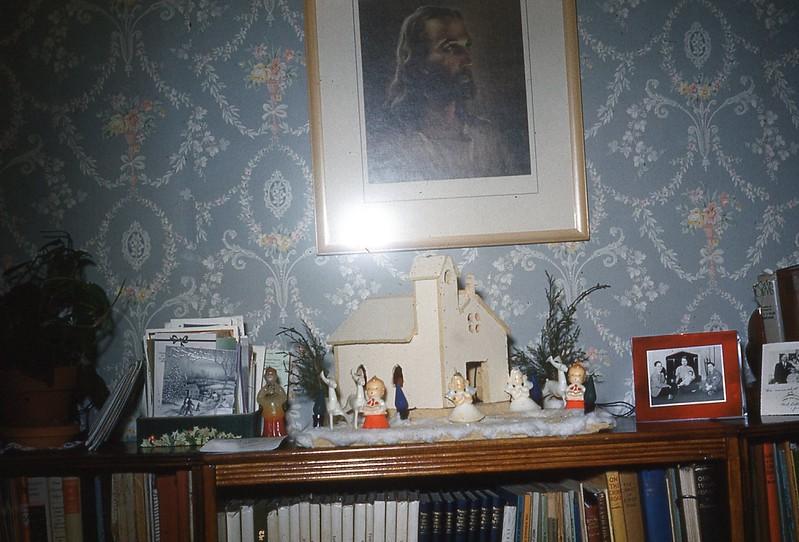 1952 Dec. - Christmas Scene in Naomi's Room