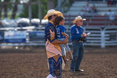 Grand Entry/Mutton Busting