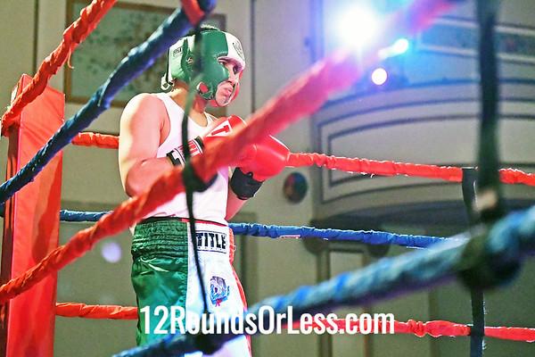 Bout #4:  Amaru Shabazz (Blue Gloves), Empire BC  vs  Juan Lugo (Red Gloves), Independent,  141Lbs. - Novice