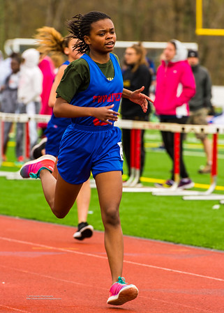Spring Track Meet at Tolland High School