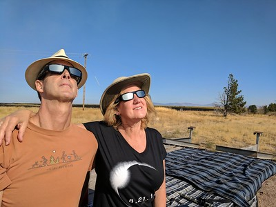 Total Solar Eclipse in Madras Oregon, 8/21/2017