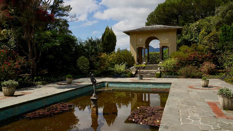 Italian Garden at Ilnacullin