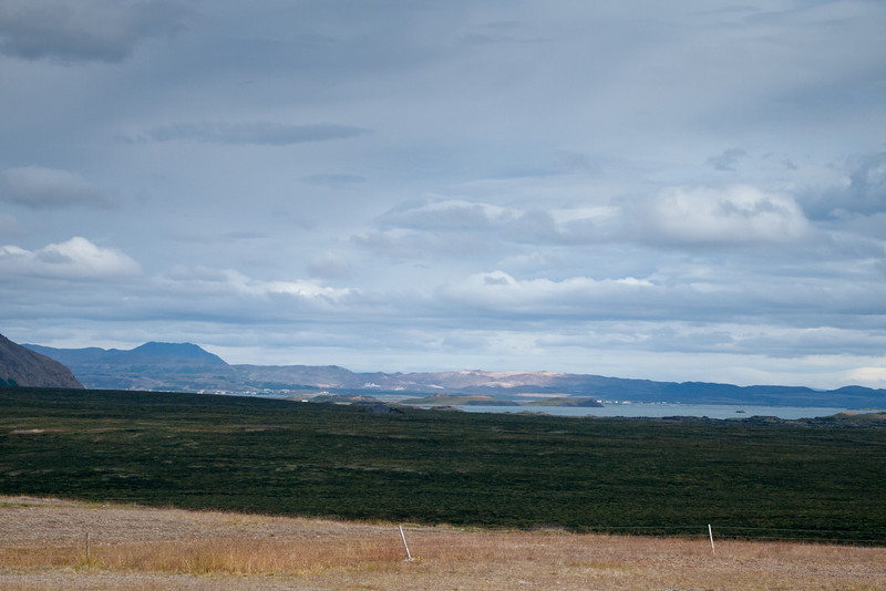 Myvatn is just to the north