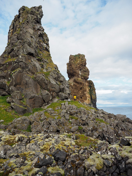 Lóndrangar sea stacks