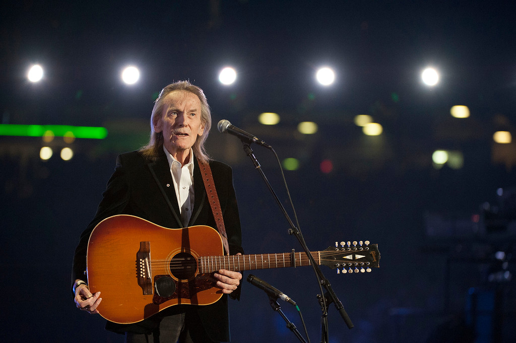 . Singer Gordon Lightfoot performs during the CFL\'s 100th Grey Cup Championship Halftime Show at the Rogers Centre in 2012 in Toronto. Lightfoot will perform at the Hardrock Rocksino at Northfield Park on May 20. For more information, visit hrrocksinonorthfieldpark.com. (Photo by Arthur Mola/Invision/AP)