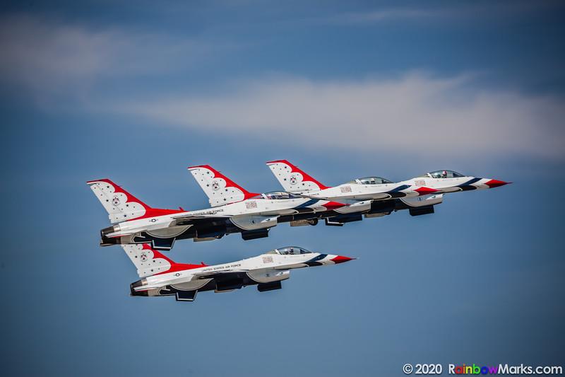 Thunderbirds 1-4 Taking Off June 2017