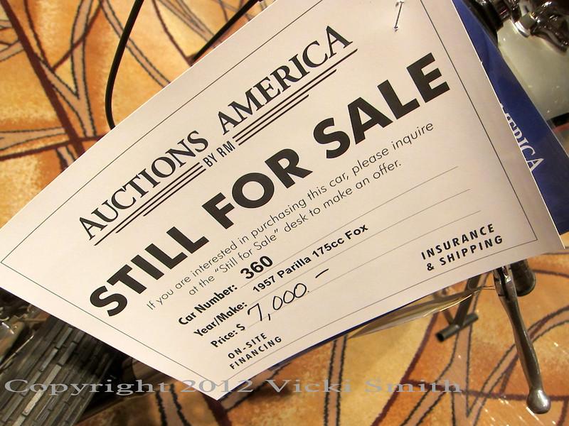Las Vegas Auctions, January 2012
