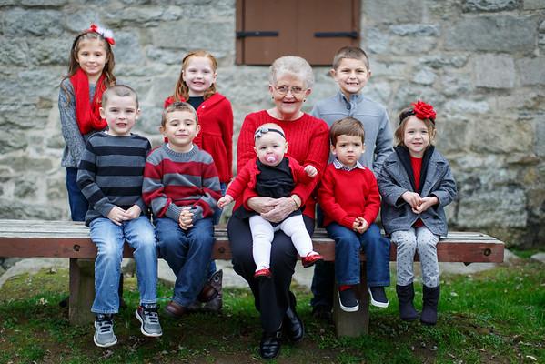 Peg & Grand kids