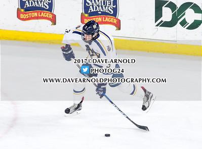 3/15/2017 - Boys Varsity Hockey - MIAA Super 8 Semifinal - Arlington vs Malden Catholic