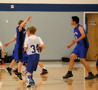 Boys 7th Grade Basketball Jan 2013