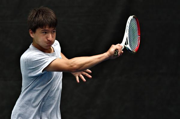 Seiji Hosokawa TennisCollege Recruiting Video